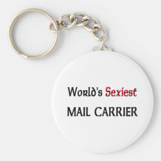 World's Sexiest Mail Carrier Keychains