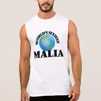 World's Sexiest Malia Sleeveless Tees
