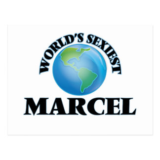 World's Sexiest Marcel Post Card