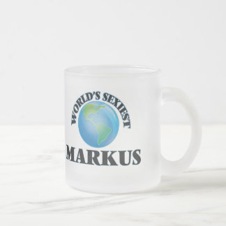 World's Sexiest Markus Coffee Mugs