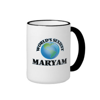World's Sexiest Maryam Mugs