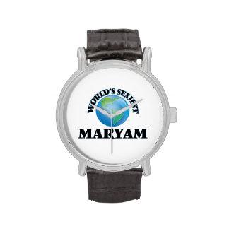 World's Sexiest Maryam Wrist Watch