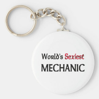 World's Sexiest Mechanic Key Ring