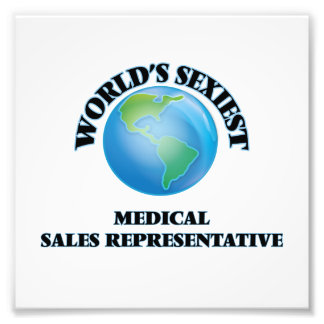 World's Sexiest Medical Sales Representative Art Photo