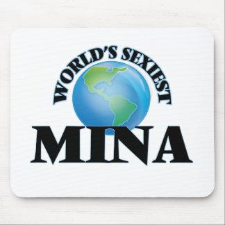 World's Sexiest Mina Mousepads