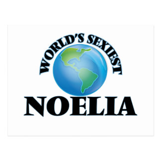 World's Sexiest Noelia Postcard