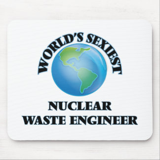 World's Sexiest Nuclear Waste Engineer Mousepads