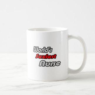World's Sexiest Nurse Basic White Mug