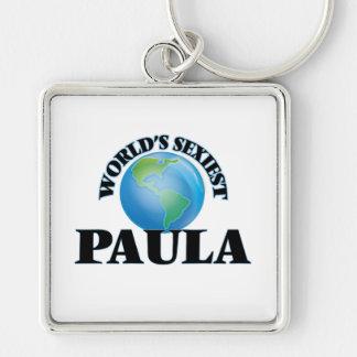 World's Sexiest Paula Keychain