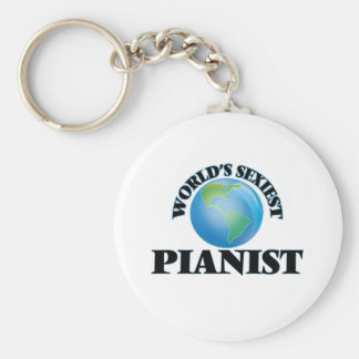 World's Sexiest Pianist Key Chain