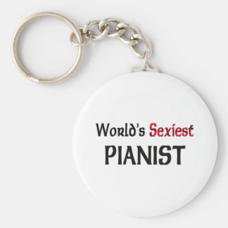 World's Sexiest Pianist Key Chains