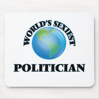 World's Sexiest Politician Mousepad