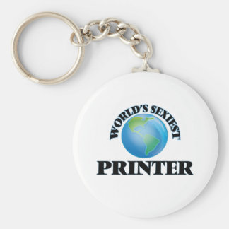 World's Sexiest Printer Key Chain