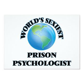 World's Sexiest Prison Psychologist Custom Invitations
