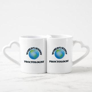World's Sexiest Proctologist Lovers Mug Set