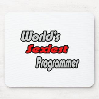 World's Sexiest Programmer Mouse Mat