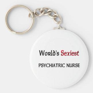 World's Sexiest Psychiatric Nurse Key Chains