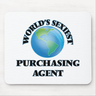 World's Sexiest Purchasing Agent Mousepad