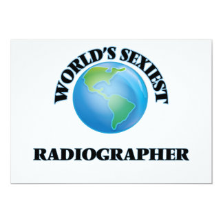 World's Sexiest Radiographer Card