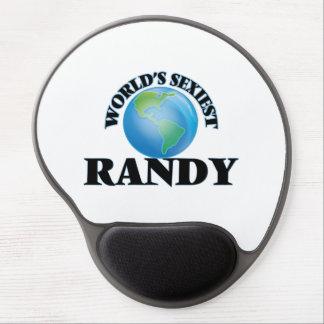 World's Sexiest Randy Gel Mouse Pad