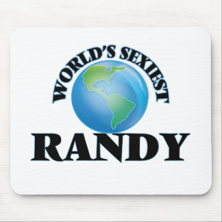 World's Sexiest Randy Mouse Pads