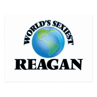 World's Sexiest Reagan Post Cards