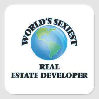 World's Sexiest Real Estate Developer Sticker