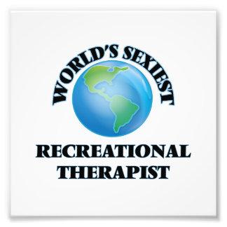 World's Sexiest Recreational Therapist Photo Print