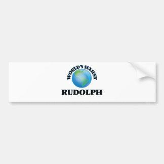 World's Sexiest Rudolph Bumper Stickers