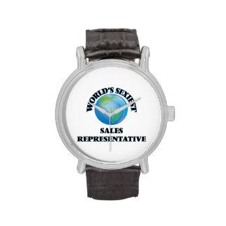 World's Sexiest Sales Representative Wrist Watch