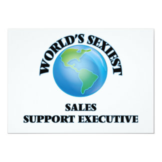World's Sexiest Sales Support Executive Personalized Invitations