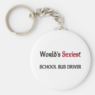 World's Sexiest School Bus Driver Key Ring