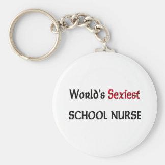 World's Sexiest School Nurse Keychain