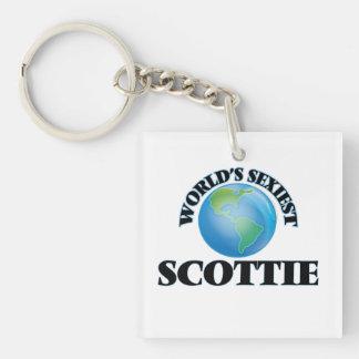World's Sexiest Scottie Acrylic Key Chains