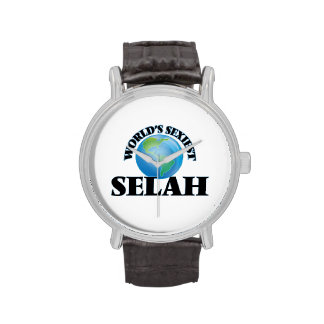 World's Sexiest Selah Wrist Watch