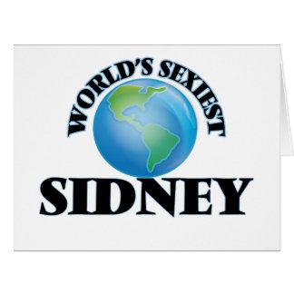 World's Sexiest Sidney Big Greeting Card