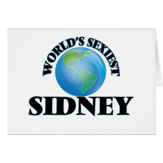 World's Sexiest Sidney Cards