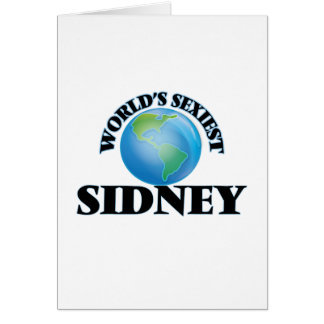 World's Sexiest Sidney Greeting Cards