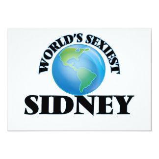 World's Sexiest Sidney Custom Announcement