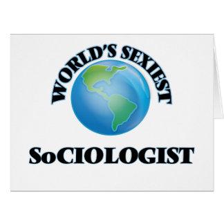 World's Sexiest Sociologist Card