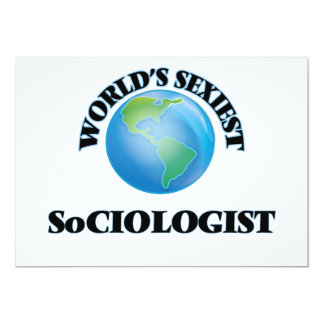 World's Sexiest Sociologist Announcements
