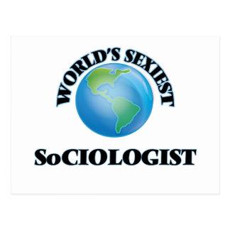 World's Sexiest Sociologist Postcard