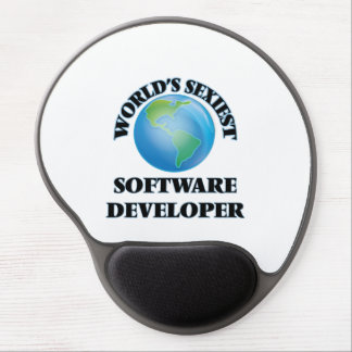 World's Sexiest Software Developer Gel Mouse Pads