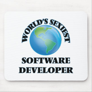 World's Sexiest Software Developer Mouse Pad