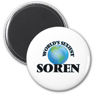 World's Sexiest Soren Fridge Magnets