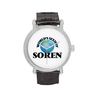 World's Sexiest Soren Wrist Watches