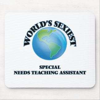 World's Sexiest Special Needs Teaching Assistant Mouse Pads