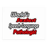 World's Sexiest Speech-Language Pathologist Post Cards