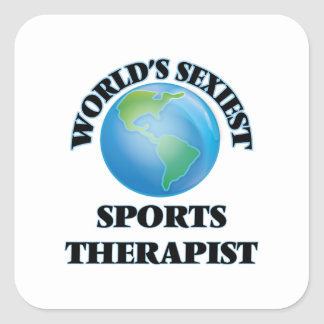 World's Sexiest Sports Therapist Stickers