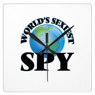 World's Sexiest Spy Wallclocks